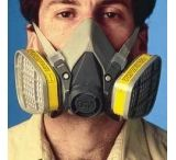 3M Respirator 1/2FACE Facepiece S 6100