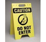Brady Worldwide FL. Sign CAUT. Do Not Enter SF649E