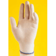 Erie Scientific Liner Glove Orange Md PK=12PR 51002-12-001