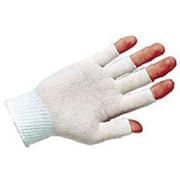 Magid Glove Gloves Nyln 1/2FINGER L PK12PR 20NYL