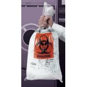 VWR Autoclavable Biohazard Bags, 1.5 mil 14220-016 Clear Bags, Plain