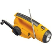 VWR ENVIRO-LITE Emergency Flashlight with Radio 3885