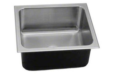 Just Manufacturing Sink W/O Faucet Ldge Snglebowl SX 1719 A GR