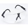 3M Lexa Eyewear Large Black Temple Safety Glasses