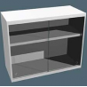 Air Control Wallshelf Polyprolabs 3 Slf AC-220-4830