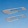 BD Bard-Parker Sterile BD Rib-Back Carbon Steel Scalpel Blades, Nos. 2022, BD Medical 371121