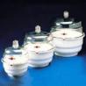 Bel-Art Space Saver Vacuum Desiccators, SCIENCEWARE 420220000 Clear Polycarbonate Bottom