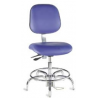 Bio Fit Cleanroom/ESD Chairs, 4V Series, BioFit 4V57-C1-KSTR Class 1 Cleanroom/ESD Chairs