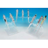 Heathrow Acrylic Pipettor Stands HSV820614000 4-Place Stand