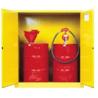 Justrite Cabinet 2-DR Man Horiz Drm 55G 899300