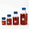Kimble/Kontes KIMAX GL45 Media/Storage Bottles, Graduated, Kimble Chase 14395 100 Media Bottles With Blue Cap