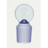 Kimble/Kontes KIMAX Glass Pennyhead [ST] Stoppers, Flask Length, Kimble Chase 41900R 13