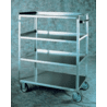 Lakeside Manufacturing Cart Multi Shelf 4 Shelf 21X50 461