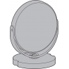Leica Microsystems Attachable Mirror for DM100/DM300