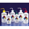 Nalge Nunc Right-To-Know Safety Wash Bottles, NALGENE 2425-0500 500 Ml Size, 28 Mm Closures