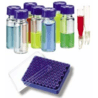 National Scientific Target DP 9-425 Screw-Thread Vials, National Scientific C4000-LV2W Vials Amber Macrovials With Id Patch