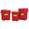 Eagle Manufacturing 6-gal. Red Poly Oily Waste Can 258-933-FL