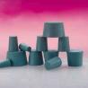 Plasticoid Green Neoprene Stoppers, Solid 9--M350