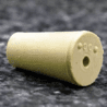 Plasticoid Rubber Stoppers, One-Hole 6--M181