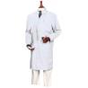 Superior Uniform Unisex Microstat ESD Lab Coats, WORKLON 463-L White Knee-Length Coats