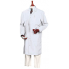 Superior Uniform Unisex Microstat ESD Lab Coats, WORKLON 463-M White Knee-Length Coats