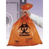 Tufpak Autoclavable Biohazard Bags, 2.0 mil 14220-028 Red Bags With Indicator
