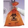 Tufpak Autoclavable Biohazard Bags, 2.0 mil 14220-066 Clear Bags