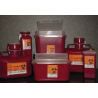 VWR Sharps Container Systems 8707V Stackable Sharps Containers Large, Tortuous Path