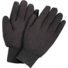 Wells Lamont Glove POLY/COTTON Brown Jersey 701S